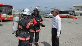 要救助者の有無や危険物情報等の情報収集