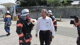 消防法に基づく火災予防措置命令の発令