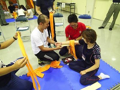 骨折の処置方法習得
