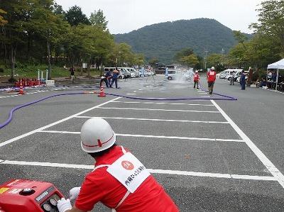 動力消防ポンプ競技