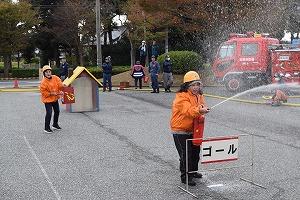 消火器競技