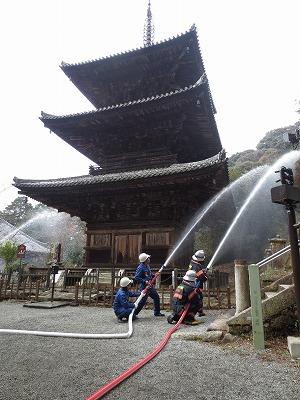 放水訓練(法華山一乗寺)