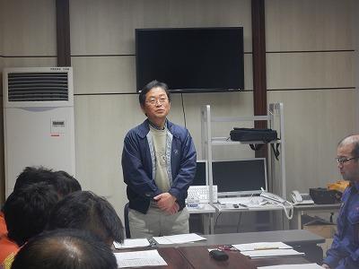 外国語研修講師 藤井 晃輔 氏