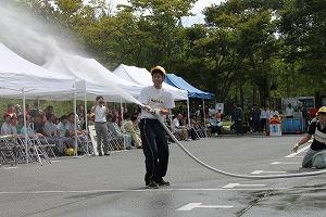 消火栓競技の部