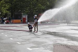 動力消防ポンプ競技の部