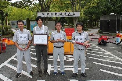 動力消防ポンプ競技(播州織工業協同組合 様)