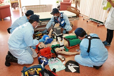 救急隊による救命処置①