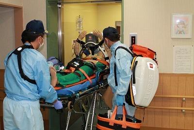 救急隊による救命処置②