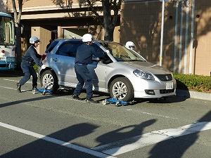 警察署による違反車両除去