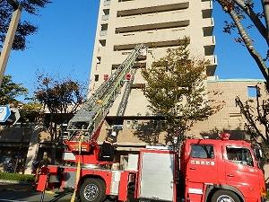 5階の要救助者救出