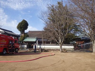警防訓練(量興寺)