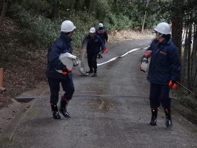 消防団の活動
