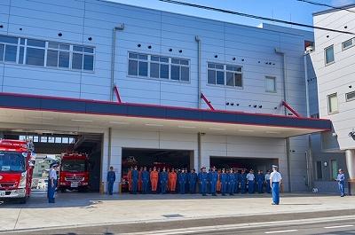 北はりま消防本部出発式