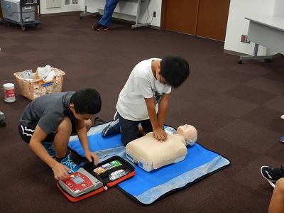 AEDの取扱い