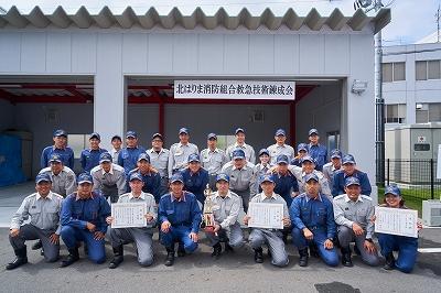 救急錬成会に出場した隊員(写真は第2小隊隊員30名)