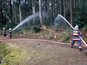 消防訓練(善光寺)①