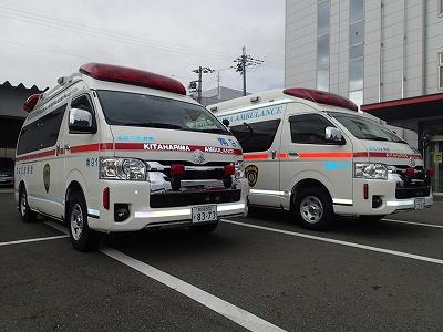 更新した高規格救急車