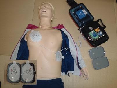 2.AEDパッドの装着